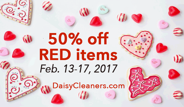 Valentines sale - half off red items