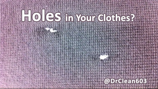 holes in your clothes?